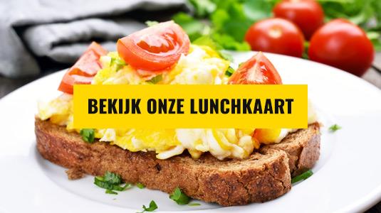 Bekijk onze Lunchkaart